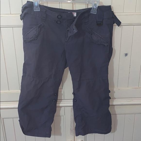Free People Pants - Free People Gray Capris